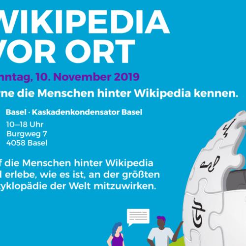 10.11.19 Wikipedia vor Ort – Lerne die Menschen hinter Wikipedia kennen!