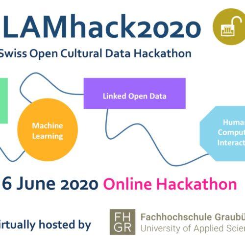 Swiss Open Cultural Data Hackathon – Online Event on 5-6 June