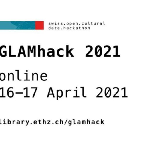 Seventh Swiss Open Cultural Data Hackathon in April 2021