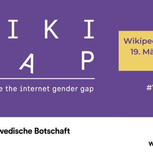 #WikiGap Workshop – Wikimedia kooperiert mit Schwedischen Botschaften