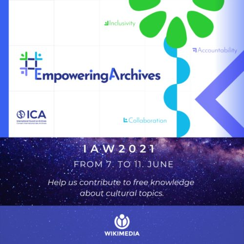 Call to Improve the Presence of Archives on Wikipedia
