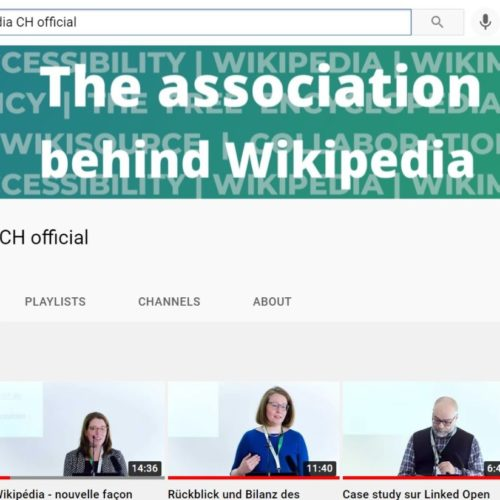 Wikimedia CH Presents its New Channel On Youtube