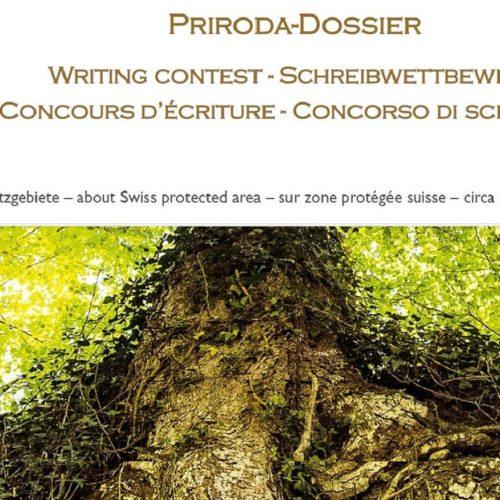 Concours d'écriture sur les aires protégées de Suisse